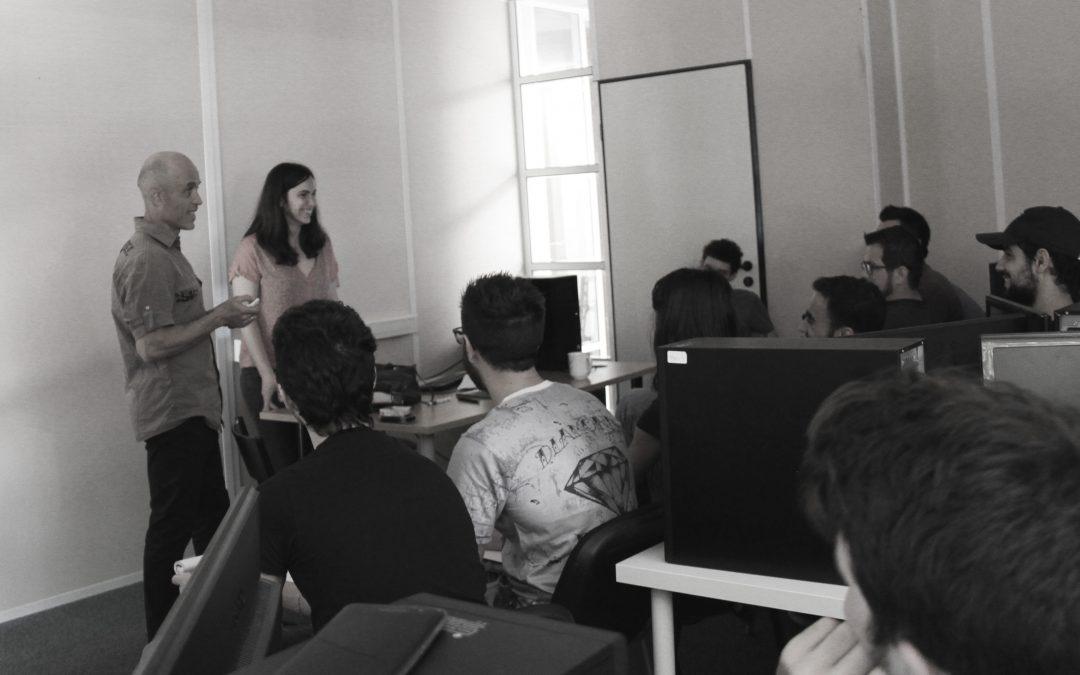 Quand Vanessa Ruffra – 3D Animator à Ubisoft – rend visite aux étudiants d'Objectif 3D