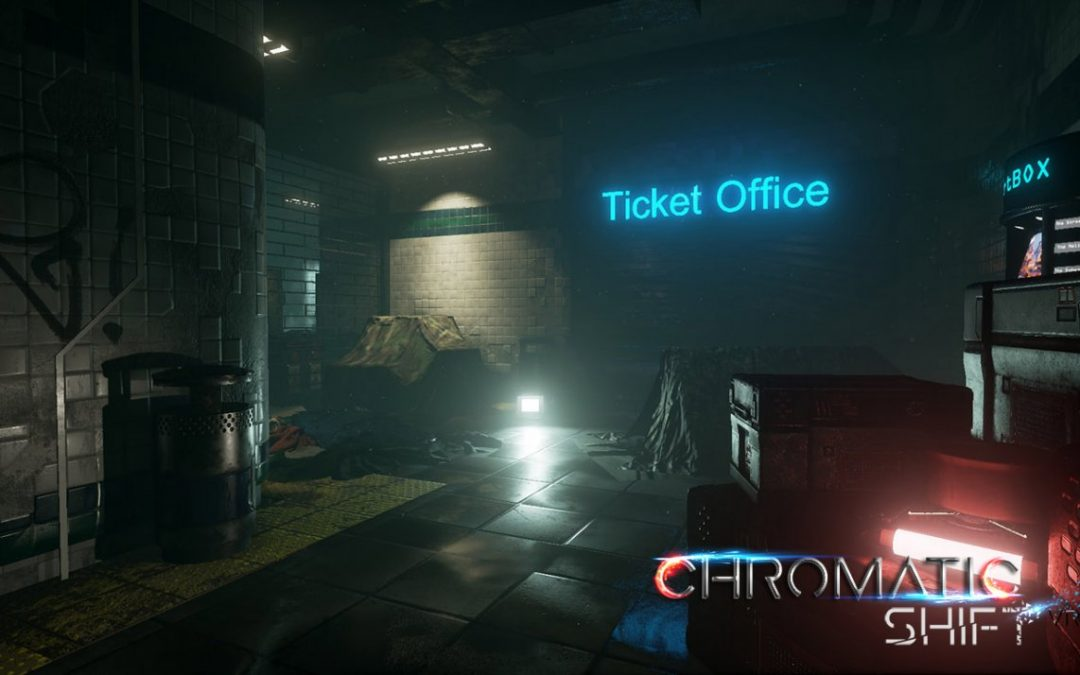 «Chromatic Shift «– Jeu vidéo en VR est téléchargeable !