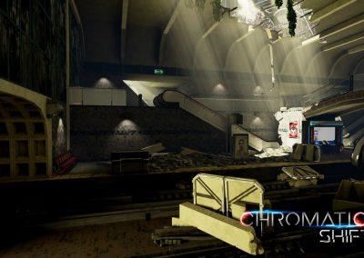Chromatic shift - jeu video