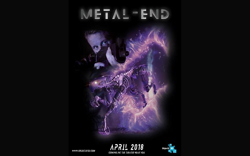 «Metal End» : Le trailer explosif réalisé par les 4eme Année section cinéma d'animation