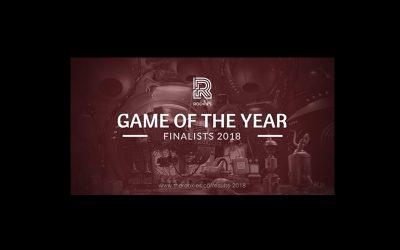 Trois Jeux Vidéo finalistes pour le «Game of the Year» – The Rookies