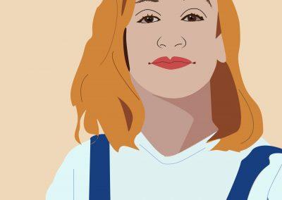 Portrait Violaine