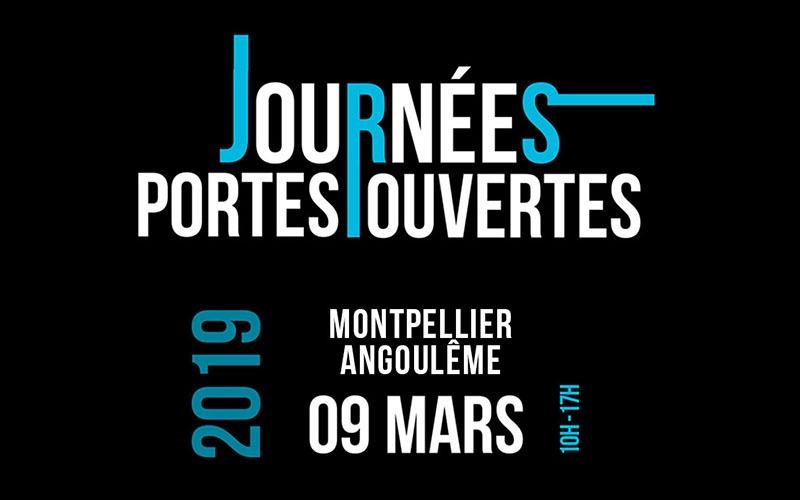 Journée Portes Ouvertes à Montpellier et Angoulême Samedi 9 Mars 2019
