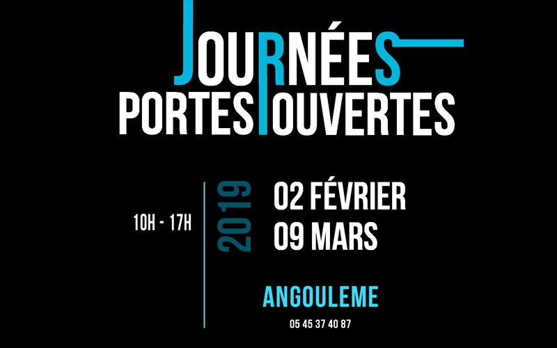 JPO – 2 Février 2019- Ecole d'Angoulême
