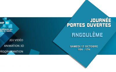 JPO – 17 Octobre 2020- Ecole d'Angoulême