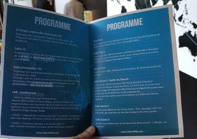 programme JPO Ecole 3D