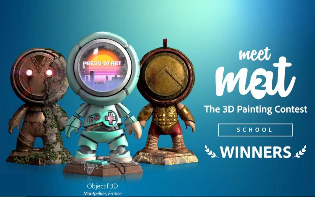 Objectif 3D remporte le Meet MAT Constest 2020