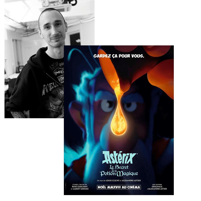 Objectif 3D Franck Astérix – Le secret de la potion magique