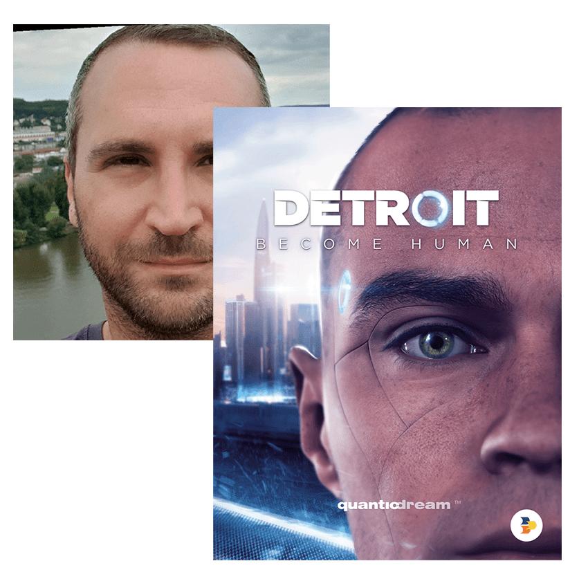 Objectif 3D Sébastien Detroit Become Human
