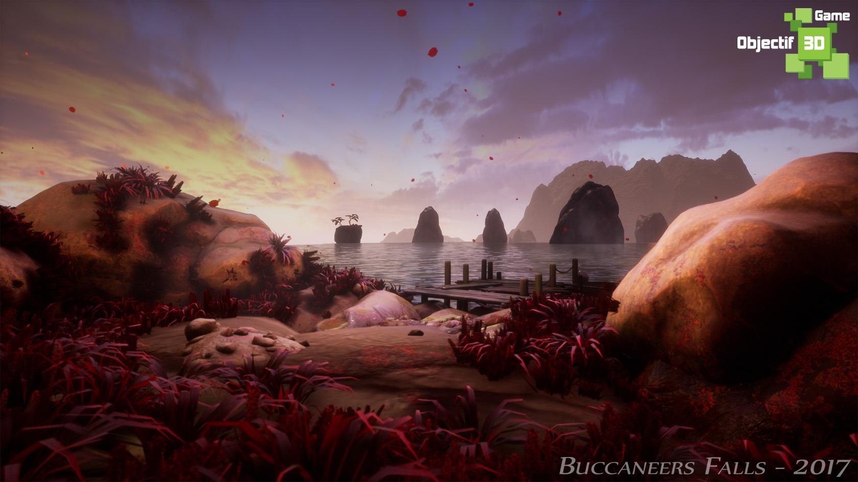 Projet Buccaneers Falls – Cinématique de Jeu