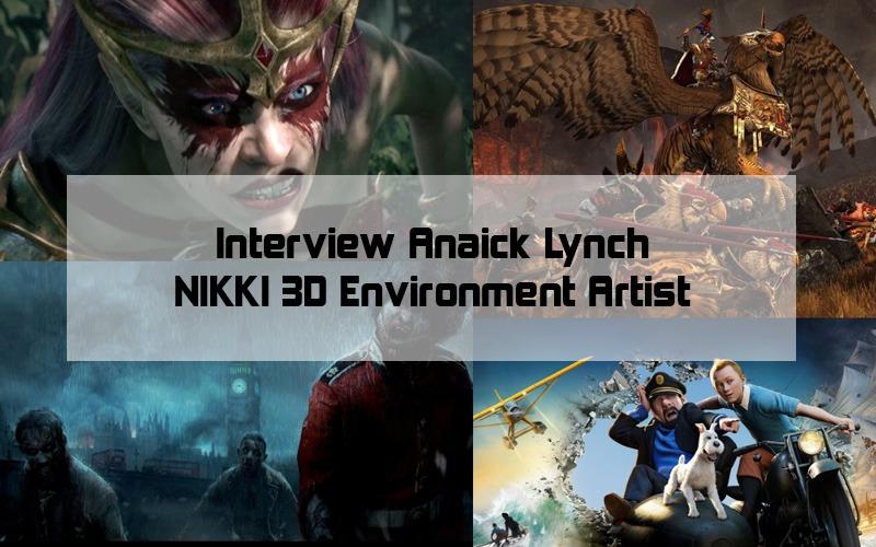 Carrière des Anciens Etudiants : Interview d'Anaick Lynch – Environment Artist