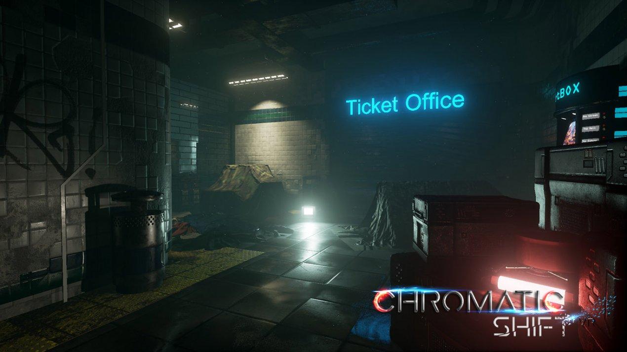 """""""Chromatic Shift """"- Jeu vidéo en VR est téléchargeable !"""