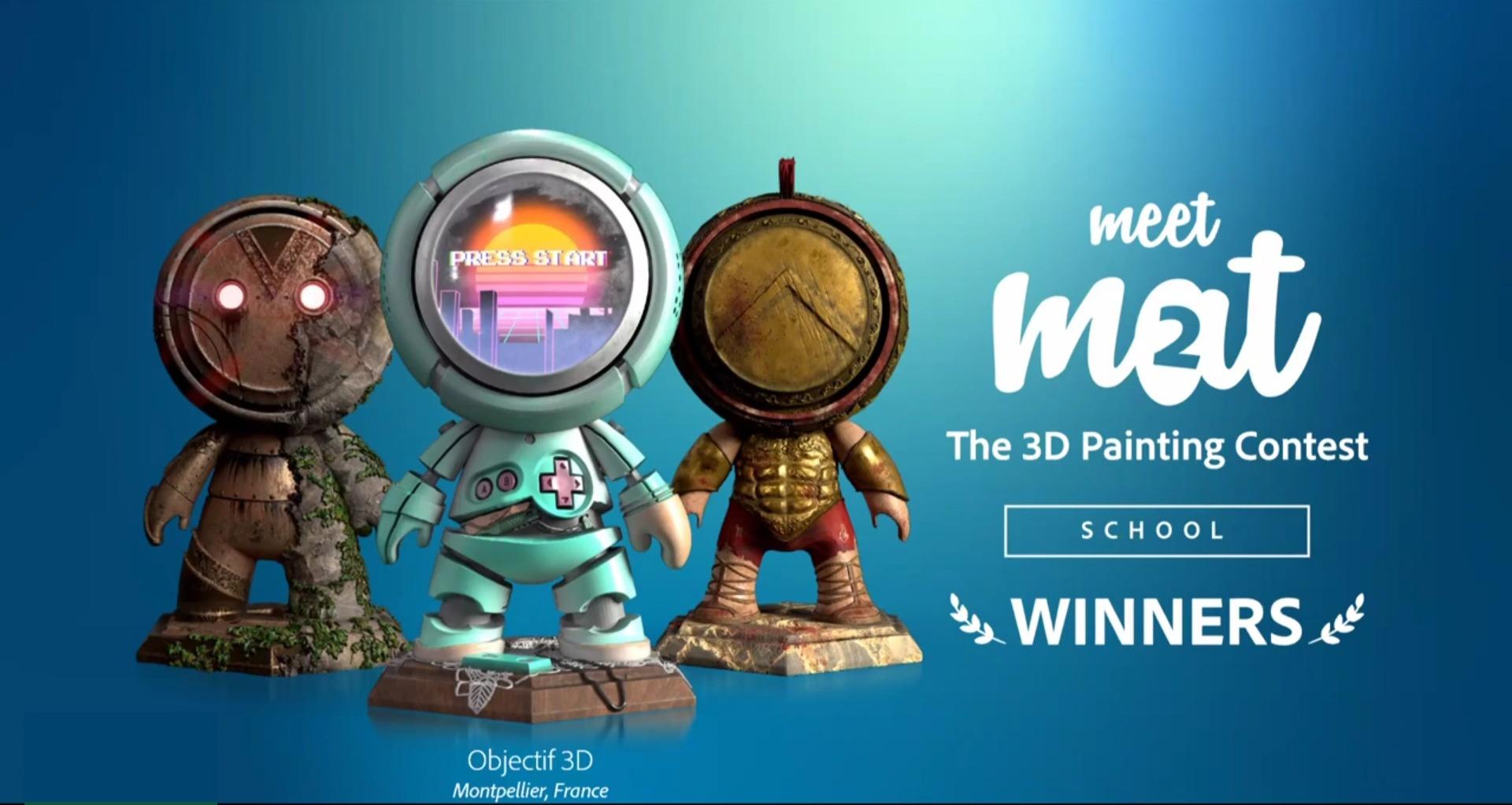 Objectif 3D remporte le Meet MAT Constest 2020