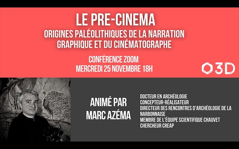 Conférence : Le Pré-Cinéma – Par Marc Azema